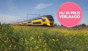 Ticket Heenreis Rotterdam Centraal, Eindhoven of Amsterdam Schiphol voor €9