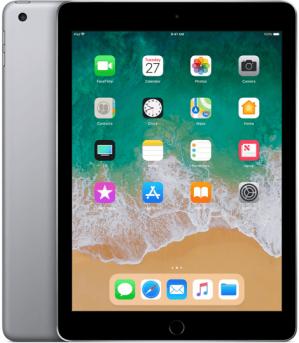 Apple iPad 2018 32 GB Wifi Space gray voor €299