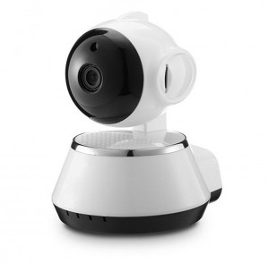 720P IP Camera-Wit + Zwart  voor €19,73