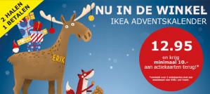 Adventskalender vanaf €2,95 per stuk incl kerstbomen actie