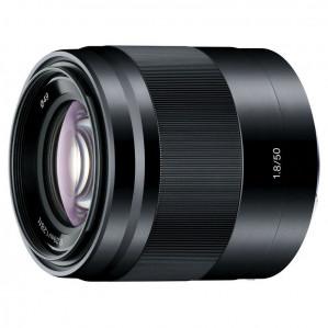 Sony NEX 50mm f/1.8 OSS objectief Zwart voor €184