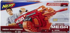 Nerf N-Strike Mega Mastodon Gemotoriseeerde Dartblaster voor €84,90
