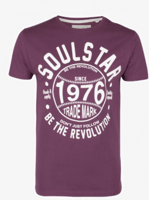 Diverse Soulstar heren T-shirts 60% korting