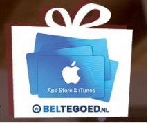 10% extra App store en iTunes tegoed