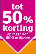 Leenbakker sale met kortingen van 50%