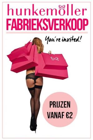 Hunkemöller Fabrieksverkoop vanaf €2 p.s.
