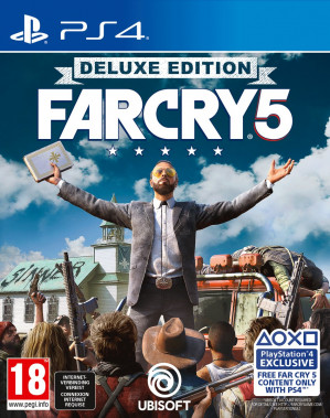 Far Cry 5 - Deluxe Edition - PS4 voor €41,99