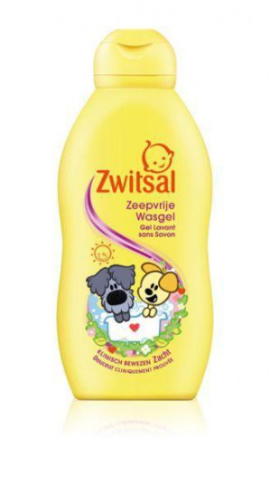 Zwitsal Wasgel woezel & pip voor €1,95