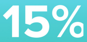 Kijkshop 15% korting via de app