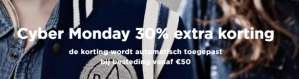 Cyber Monday bij G-Star Outlet met 30% extra korting