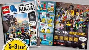 Gratis LEGO Magazine 5 keer per jaar