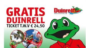 Gratis Duinrell ticket bij 3 actieproducten (v.a. €5,97)