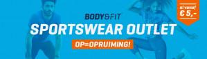 Hoge kortingen bij de Sale van Body & Fit shop