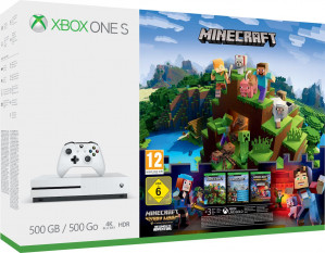 Xbox One S Minecraft Console - 500 GB + extra controller + Forza Motorsport 7 voor €219