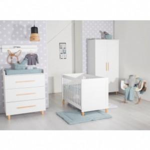 Cabino Babykamer Stockholm 3-delig voor €399