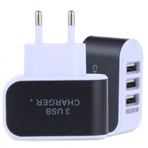 3 poort USB oplader 5V 3A voor €0,72 dmv code