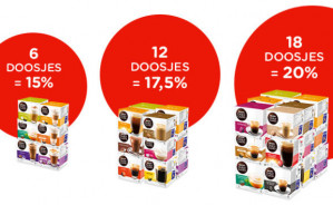 Dolce Gusto koffiecapsules tot 20% korting