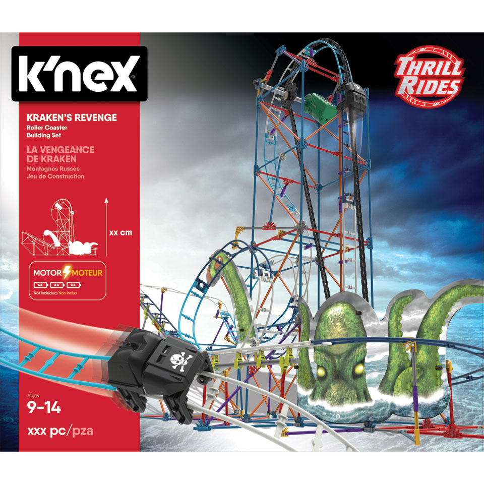 K'NEX Thrill Rides Krakens Revenge-achtbaanbouwset voor €19,98