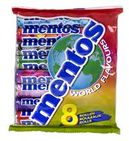 Gratis 8-pack Mentos Wereldsmaken bij iedere bestelling vanaf €40
