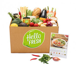 Hello Fresh box €25 korting