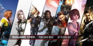 Humble bundle - Square Enix publisher week tot 85% korting