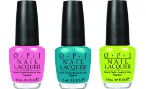 Verschillende kleuren O.P.I. nagellak voor €2,99