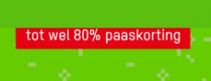 Zavvi paasaanbiedingen tot wel 80% korting
