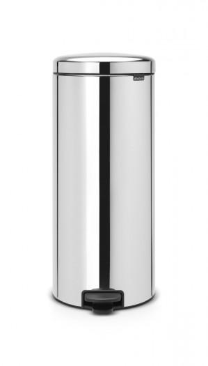 Brabantia newIcon Prullenbak - 30 l - Brilliant Steel voor €41,99