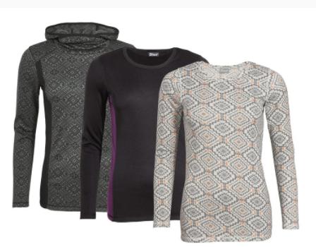 Diverse CRIVIT Thermo kleding vanaf €2,49