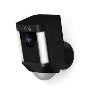 Ring Spotlight Cam Batterij, Zwart voor €179