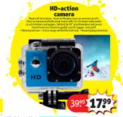 HD-action camera voor €17,99