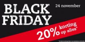 Black Friday bij Pets Place  met 20% korting