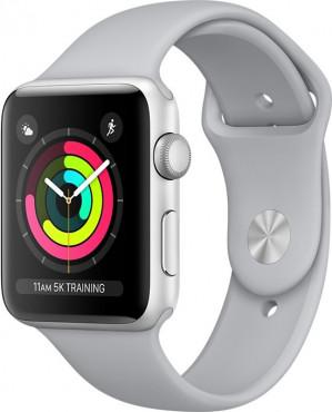 Apple Watch Series 3 - Smartwatch 38mm - Zilver Aluminium / Mistgrijs Sportband voor €349