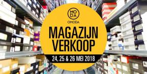Ticket Omoda Magazijnverkoop voor €2,50