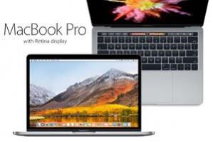 """Apple macbook 13"""" (2016) met touchbar voor €1503,90"""