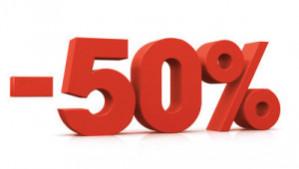 Diverse boeken 50% korting