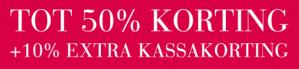 Expresso sale met 50% korting en gratis verzending