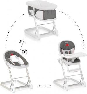 ICoo Grow With Me 1-2-3 - Wieg/Wipstoel/Kinderstoel - Bug voor €104,70