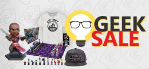 Game Mania Geek Sale Sale tot 50% korting