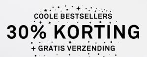 Winter sale bij Happy Socks met 30% korting + gratis verzending