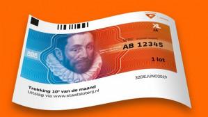 Staatsloterij Koningsdaglot voor €12,50 +250 airmiles