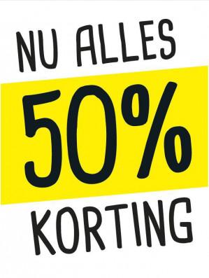 Xenos in Sittard alles 50% korting