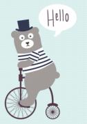 Poster Beer op fiets voor €1,95