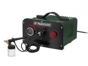 PARKSIDE® Airbrushset met compacte behuizing voor €39,99
