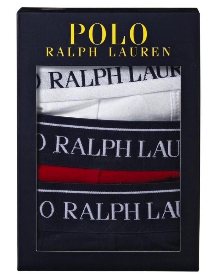 Ralph Lauren Boxers 3 stuks Wit voor €9,99