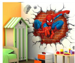 Spider-Man muur sticker voor €6,95