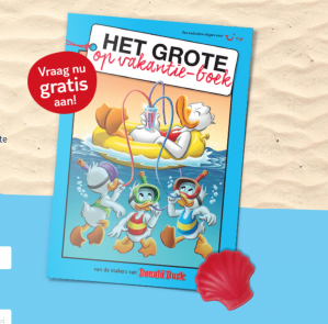 Het grote op vakantie-boek van Donald Duck nu gratis