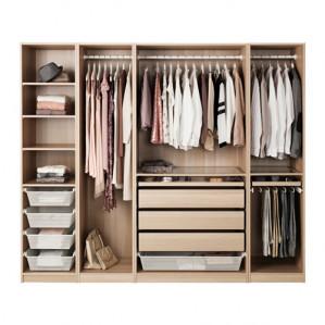 Op alle Komplement kastinrichting bij aankoop van een Pax kledingkast 30% korting