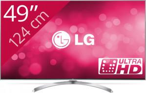 LG 49SJ810V - 4K tv voor €652