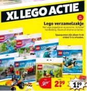Legoverzamelzakje voor €1,99 +100 spaarpunten
